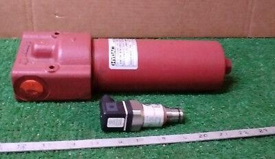 1 New Hydac Hf2p-bn-08g12j41.20b6 Hydraulic Filter Nnb Make Offer