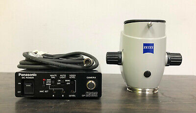 Zeiss Pico Body Section W Camera Cable For Mel 80 Excimer Microscope Laser