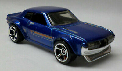 Hot Wheels 1970 '70 Toyota Celica Blue Black Interior New From Multi Pack 1:64