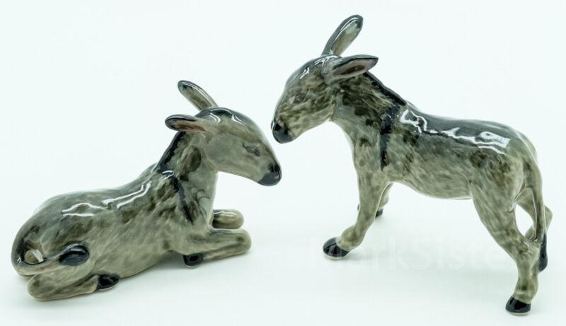 Figurine Animal Ceramic Statue Donkey - CFO003