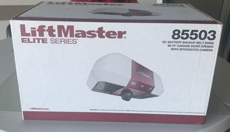 Liftmaster 85503 Battery Backup Belt Drive WiFi W/ Intg Camera W/O Rail