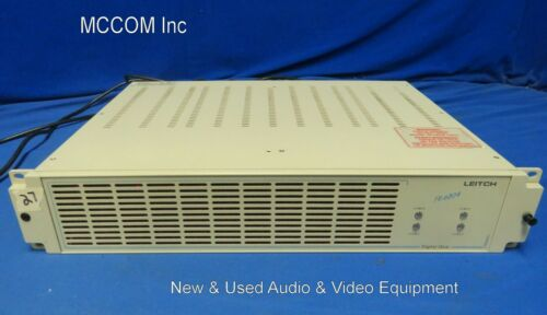 Leitch FR-6804 Frame w/ 10-USM-6800 SD/SDI DA & to Analog Conv, 2 Power Supplies