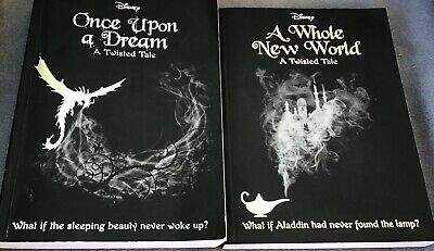 Liz Braswell Disney Twisted Tales 2 x Books Once Upon a Dream  A Whole New World