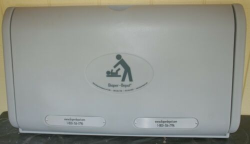 Diaper-Depot Horizontal Baby Changing Station, Item #2301 - NEW