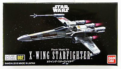 Star Wars Bandai Vehicle Model 002 X-Wing Starfighter non scale kit Made Japan
