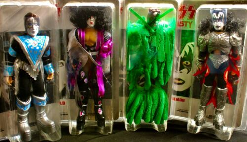 KISS 8 Inch Action Figures Series Eight Dynasty: Set of all 4