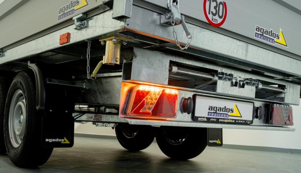 Agados Anhänger ATLAS B2 Dreiseitenkipper 3500 kg in Weiden (Oberpfalz)