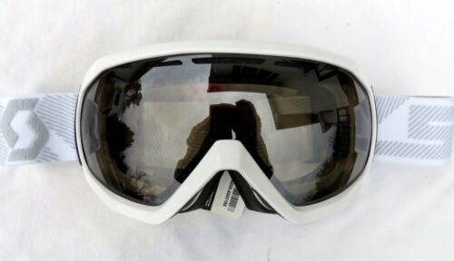 $120 Scott Mens Notice OTG Over The Glasses Gloss White Ski Goggles NL-32 Chrome