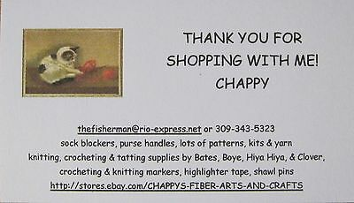 CHAPPY'S FIBER ARTS AND CRAFTS