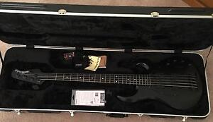 Ernie Ball Musicman Stingray 5 HH Stealth Bass Winthrop Melville Area Preview
