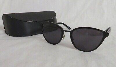 OLIVER PEOPLES ANNALIESSE OV1131ST TITANIUM Black Filigree Sunglasses (Oliver Peoples Black Sunglasses)