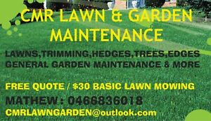 LAWN MOWING & TREE MAINTENANCE
