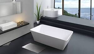 Square free standing bath tub Moorabbin Kingston Area Preview