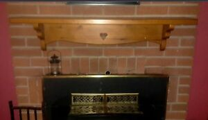 Fireplace wood burning insert