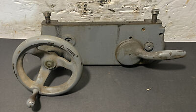 South Bend Lathe 9 Apron Assembly Half Nuts Machinist Used