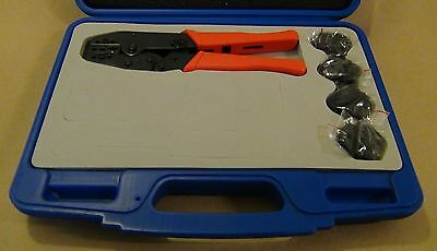 Prep Kit 5 Dies Awg 22-6 Insulated Non-insulated Terminal Ratchet Crimp Tool