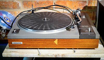 Vintage Pioneer PL-112D Hi-Fi Turntable Record Deck