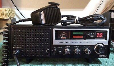 Vintage Realistic Navajo Trc-432 40 Channel Cb Base Station Radio!