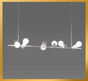 6 Lights - Modern Birds on Tree Trunk Pendant Lamp Ceiling Hanging Chandelier