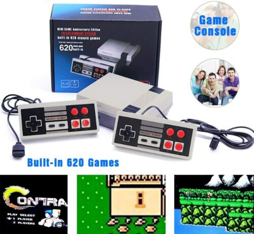 MINI VINTAGE GAME GAMING CONSOLE 620 GAMES RCA/HDMI CHRISTMA