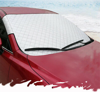 Universal All Season Car Front Windshield Snow Cover Frost Sun Shade Protector