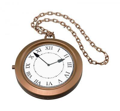 90s Rapero Jumbo Collar Medallón Conejo Plástico Disfraz Accesorio Reloj