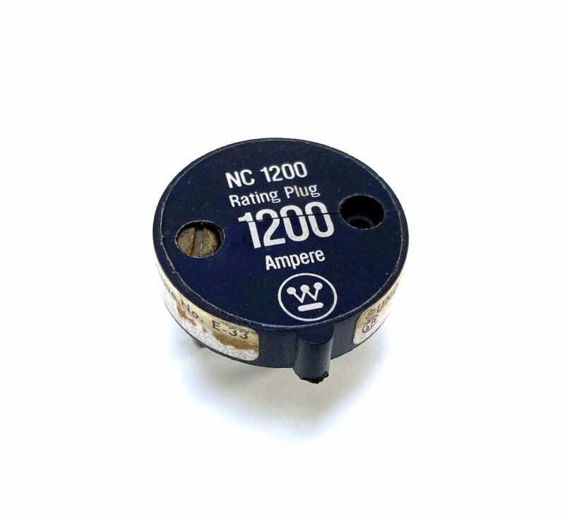 Westinghouse 12NC1200 1200 Amp Rating Plug (For a NC Breaker)