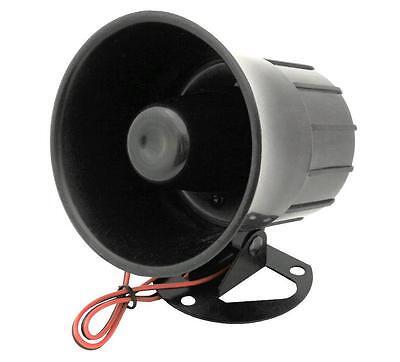 110dB Alarm Horn Alarmsirene Alarm Sirene 12V 15W Alarmanlage
