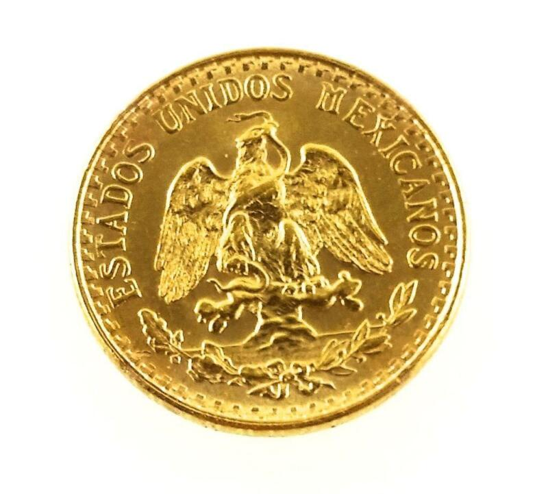 1945 Mexican Gold Coin Ebay