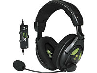 2 Turtle Beach X12 Amplified Stereo Gaming Headsets - Xbox 360
