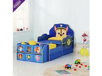 Paw Patrol Cube Toddler Bed Frame - Blue