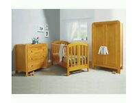 Mamas and Papas 2 piece nursery furniture set