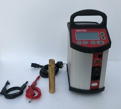 Ametek Jofra Mtc 650a Dry Block Temperature Calibrator Ambient To 650c 3