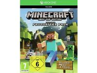 Minecraft Xbox One Edition Favourites Pack Includes Minecraft Xbox One, Builder Pack&Windows 10 Beta
