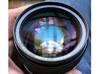 Nikon NIKKOR 85mm f/1.4 Ai-S Lens - Near Mint Condition