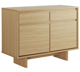 HOME Linear 2 Door 2 Drawer Sideboard