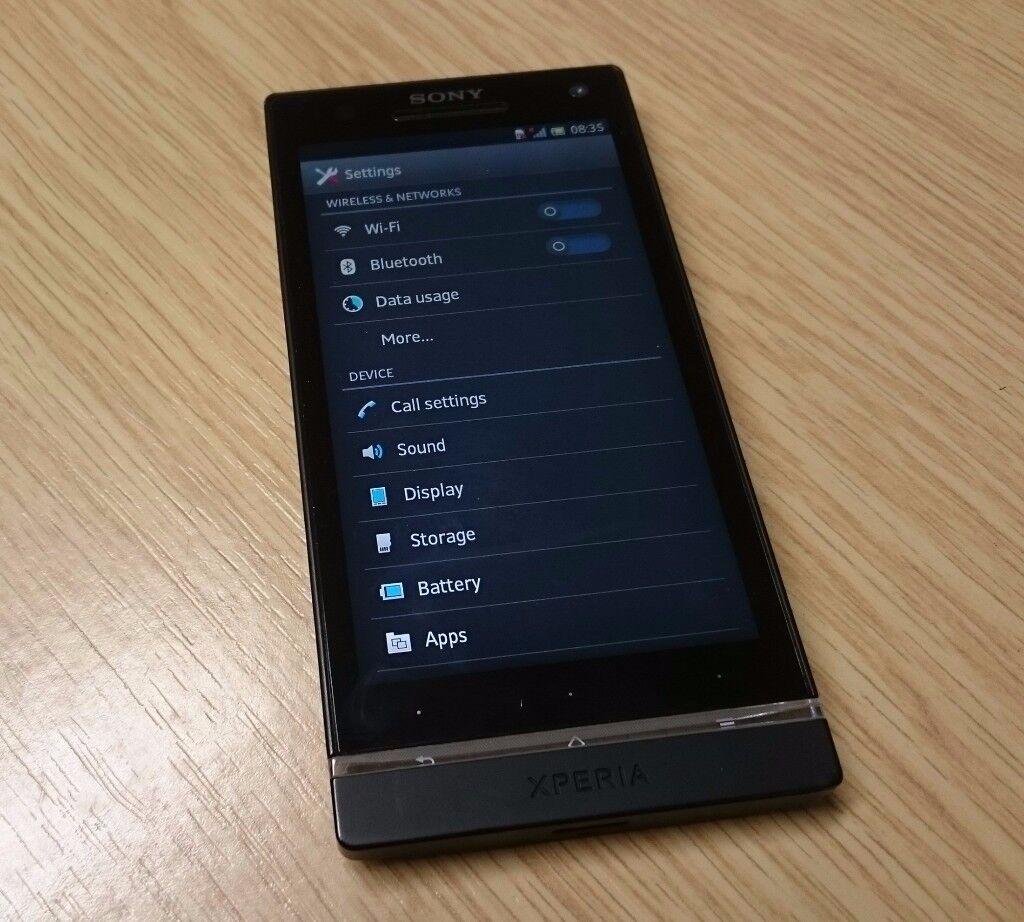 Sony Xperia S *Unlocked, 32Gb, NFC, HDMI