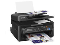 Epson WorkForce WF-2630 Compact 4-in-1 Printer with Wi-Fi and features for home offices