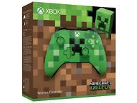 XBOX One Controller - Minecraft Creeper - Brand New in Box - Unopened