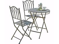 Barely used patio furniture set