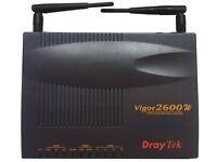 Draytek Vigor 2600w ADSL Router/Wireless LAN/ISDN