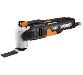 Brand new Worx Wx680 Sds Sonicrafter F30 Multi Tool - 350W