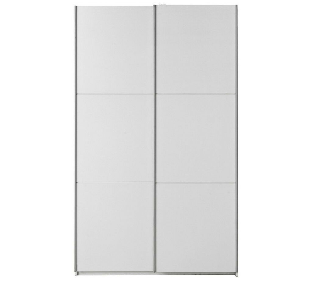 promo code 17d19 f6484 Hygena Bergen 2 Door Medium Sliding Wardrobe - White   in Beeston, West  Yorkshire   Gumtree