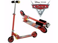 NEW Disney Pixar Cars 3 in-line Street Scooter
