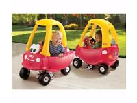 Little tikes cosy coupe car £20 plus other items £10 each