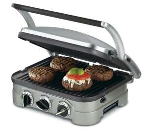 NEW Cuisinart CGR-4NC 5-in-1 Griddler