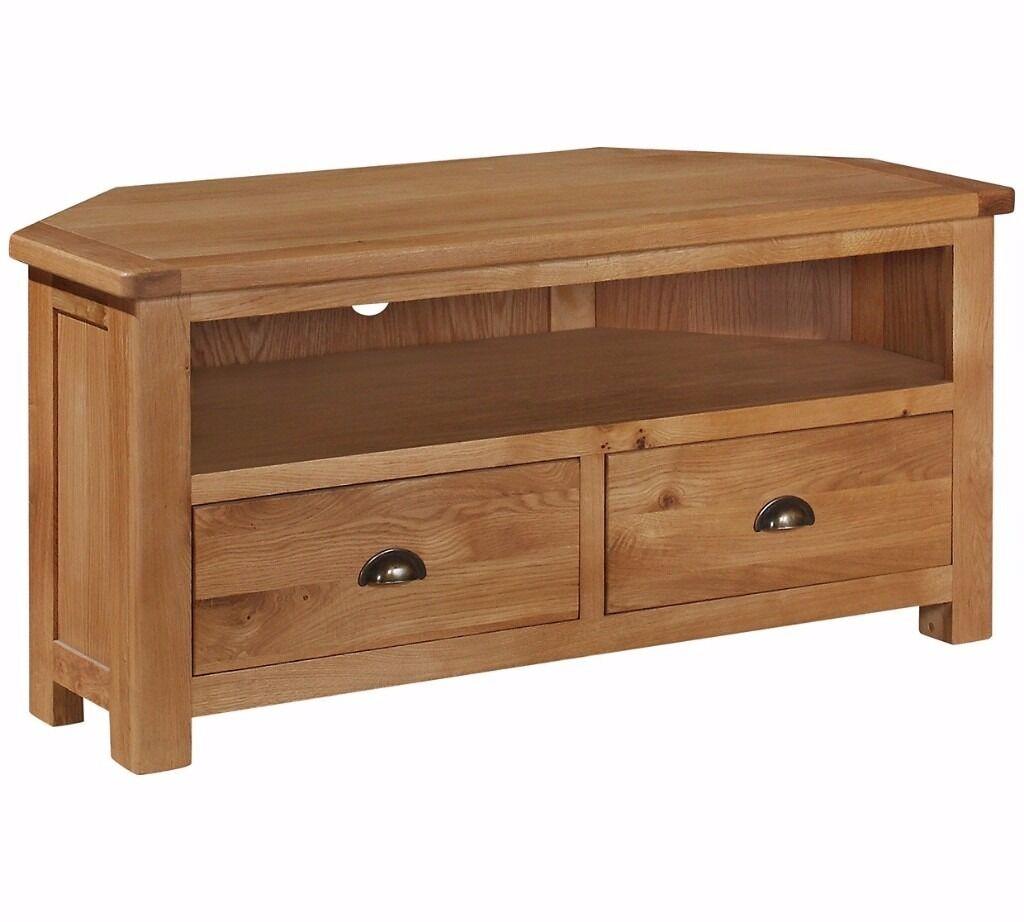 Ex Display Heart Of House Kent Oak Oak Veneer 2 Drawer