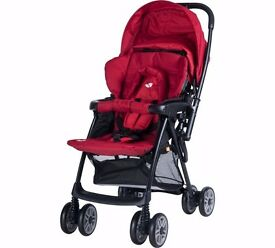 Buggy - Joie Red Push Chair - Relocating - Clarence ************