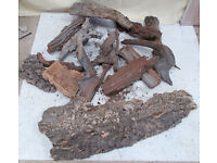 Reptile Cork Bark Various Sizes Joblot