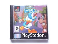 Donald Duck Quack Attack for the Sony PlayStation